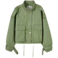 a21工装ins宽松短款小棉袄20夹克质量怎么样