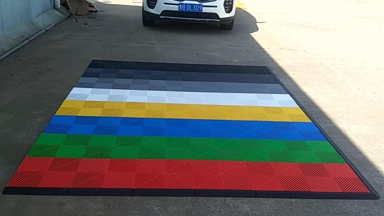 2017 Pvc Flooring Matpvc Floor Tile Eco Friendly Interlocking
