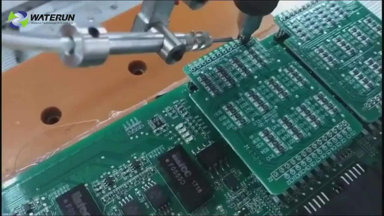 4 axis automatic soldering robot, desktop soldering robot machine