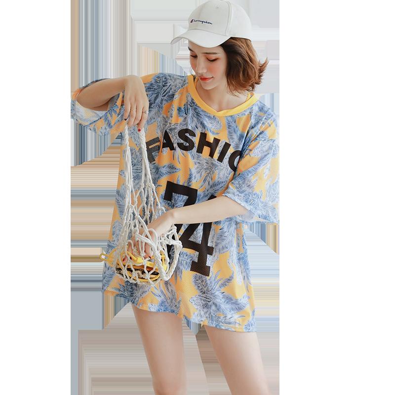 温泉分体游泳衣女遮肚显瘦三件套装仙女范保守韩国ins风性感泳装