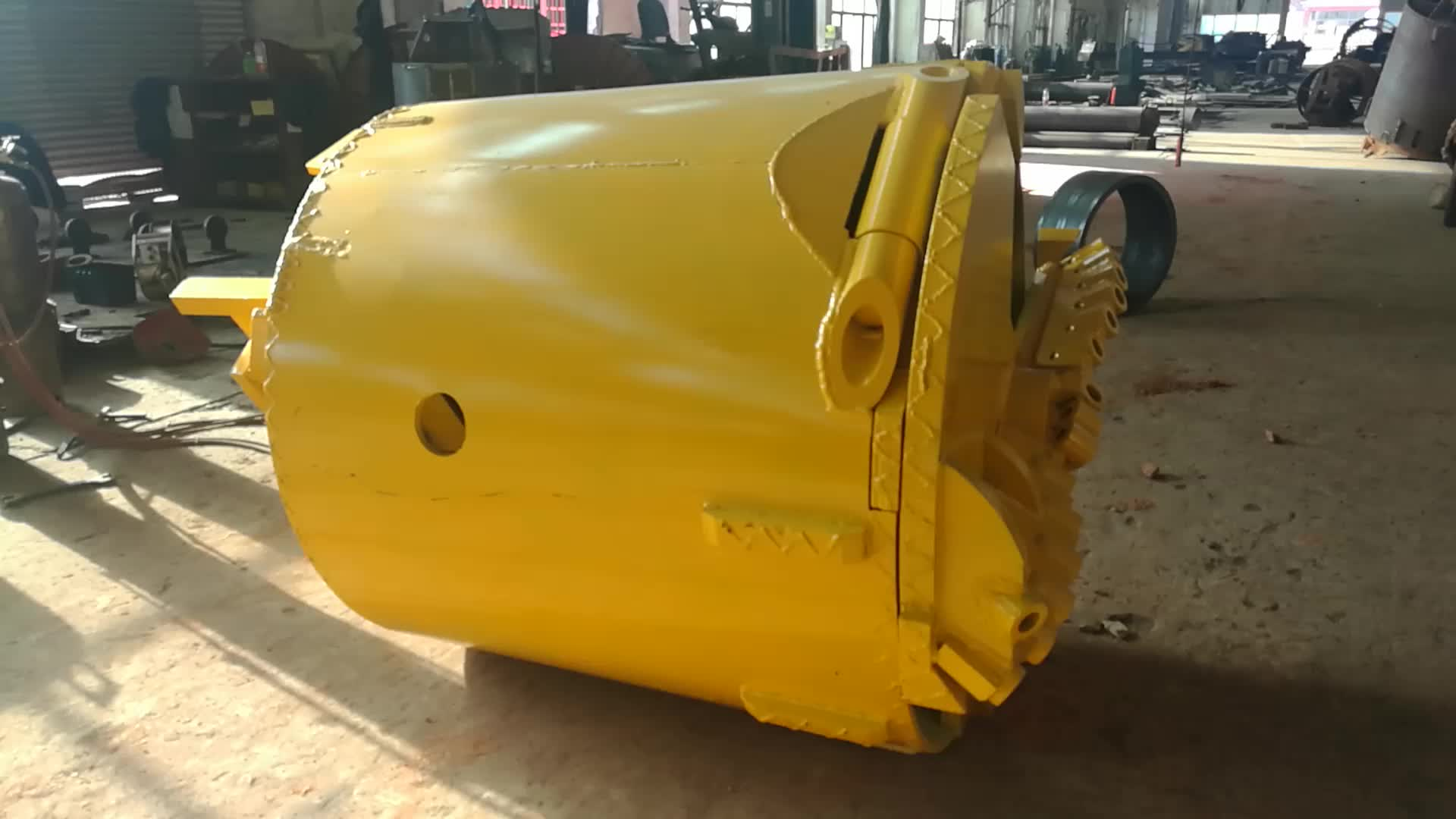 Rock Bucket With Single Bottom For Foundation Construction Machinery