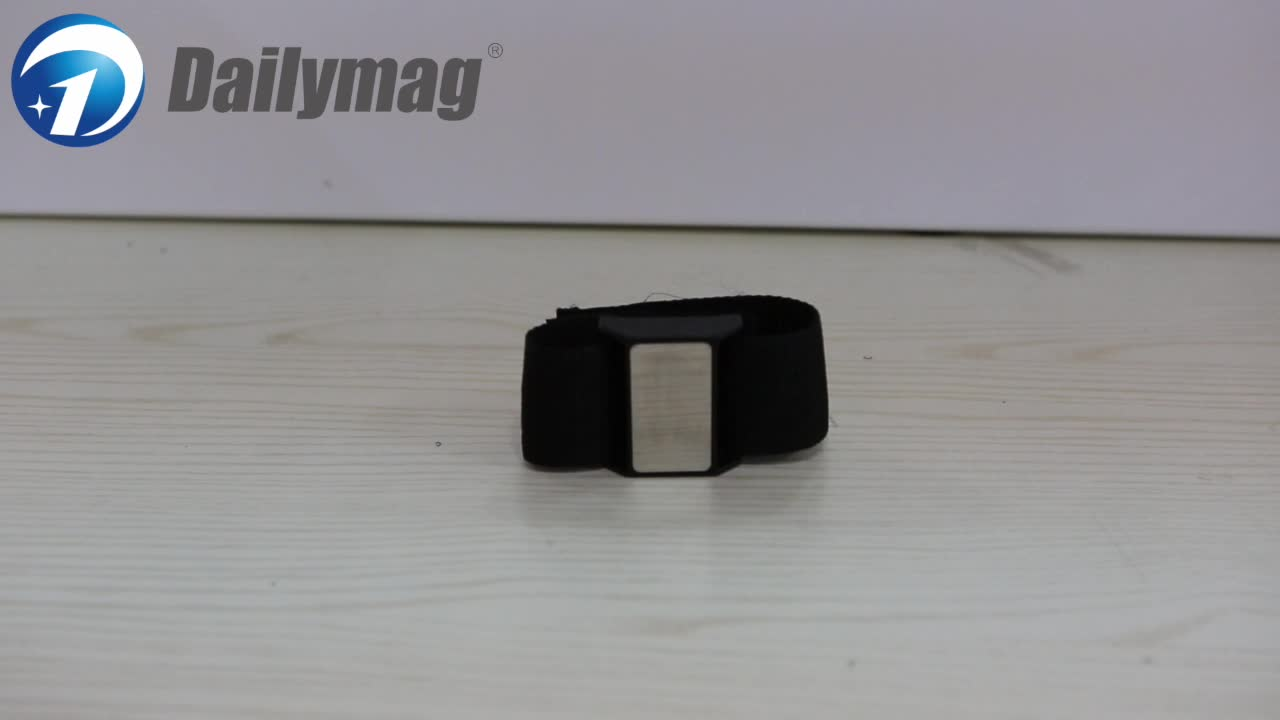 Magnetic Wristband - 15 Super Strong Magnets with Adjustable Wrist Strap for Holding Screws, Nails, Bits