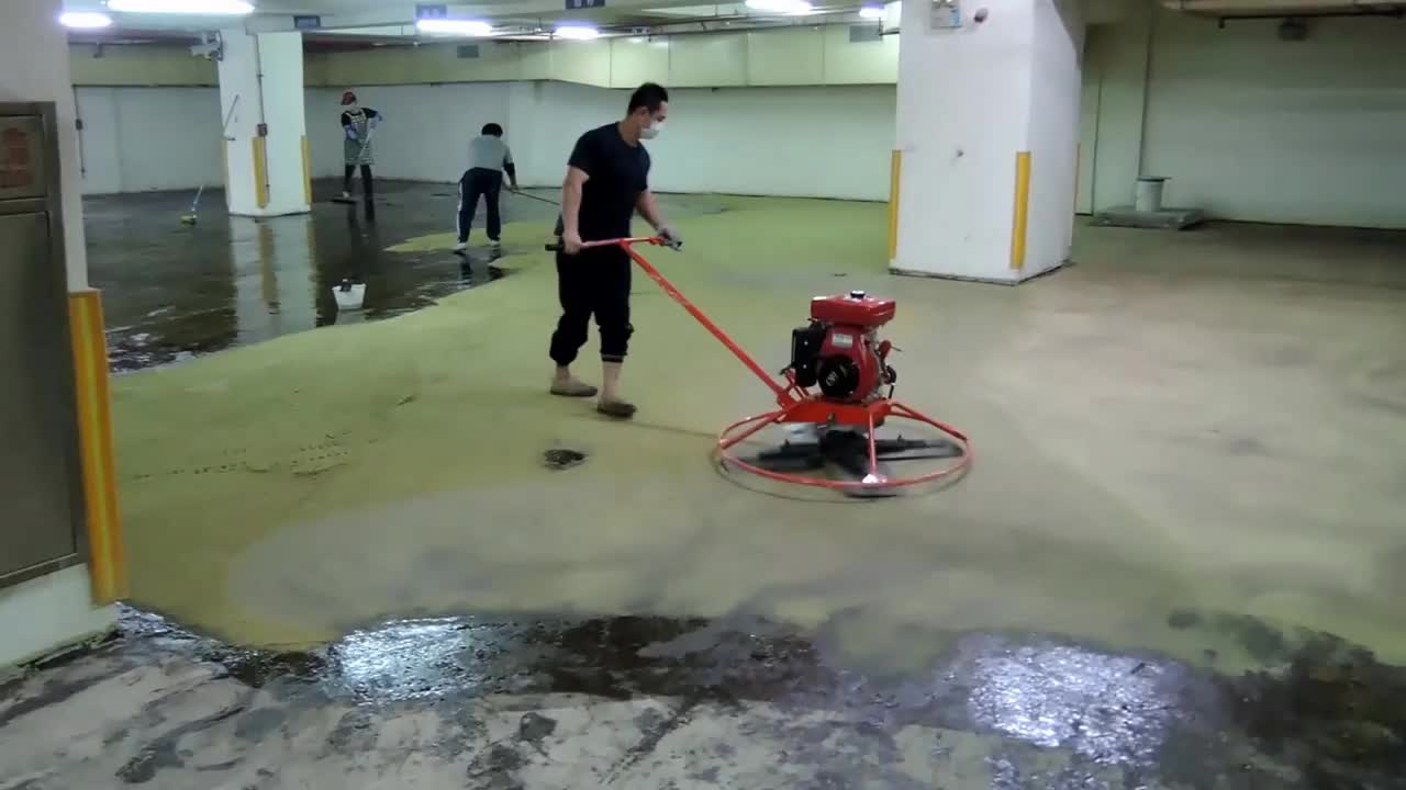 Clear Epoxy Resin Paint Floor Garage Concrete High Solid