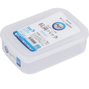 日本进口银离子抗菌冰箱冷藏饭盒