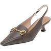 思加图春季新款猫跟法式复古凉鞋质量如何