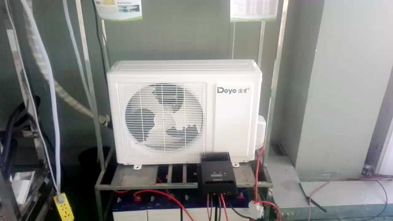 Dc Ac Dual Power Supply High Efficiency Brushless Fan Motor Wiring Electric Fans 12000btu Solar Air Conditioner Split