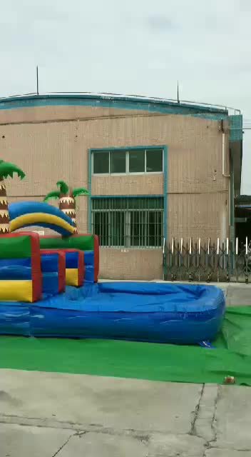 blow up wet n dry jungle inflatable water slides parts photo wholesale heavy duty