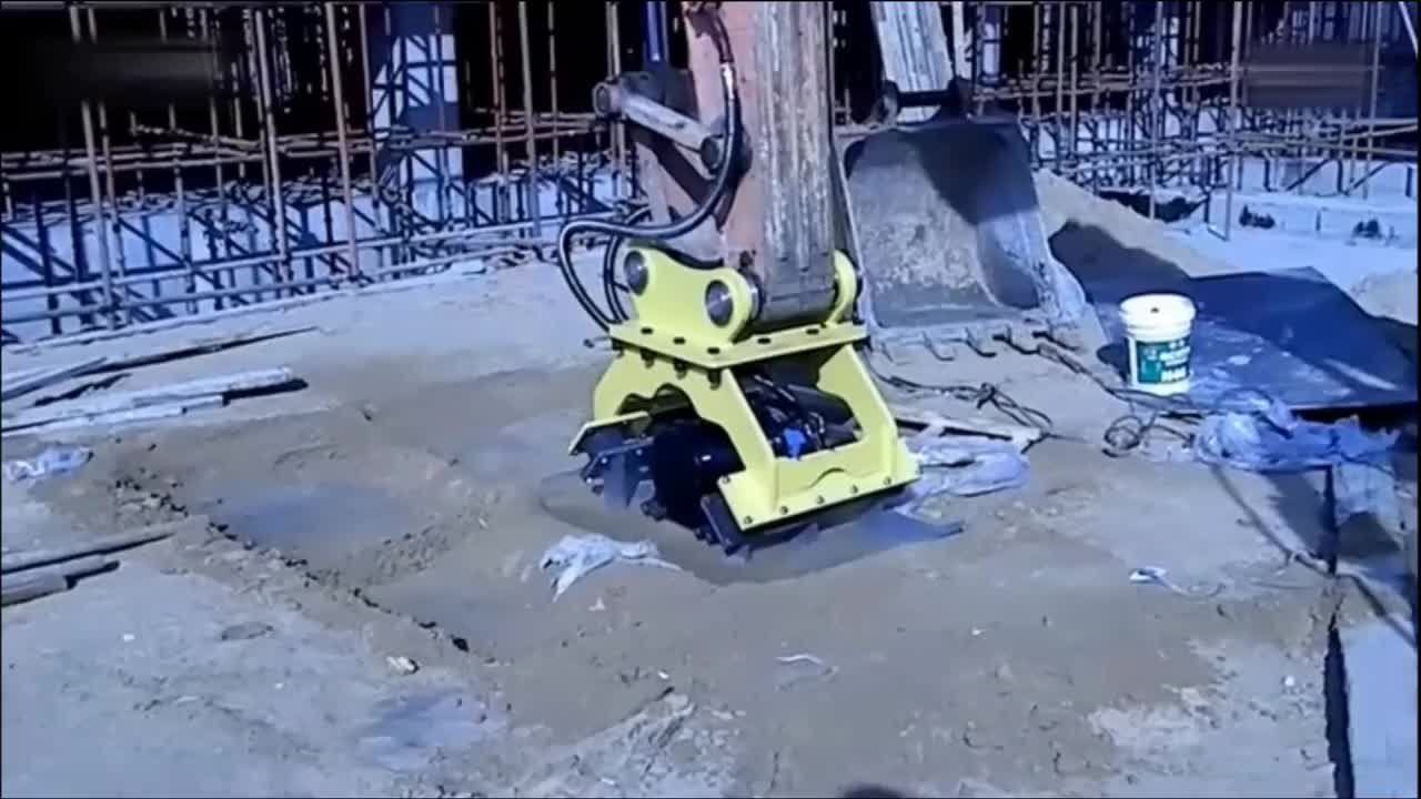 For 10-40 ton excavator vibro plate compactor equipment excavator hydraulic plate compactor and plate compactors for sale