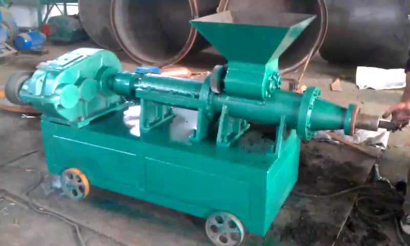 low consumption coal extruder charcoal rods making machine