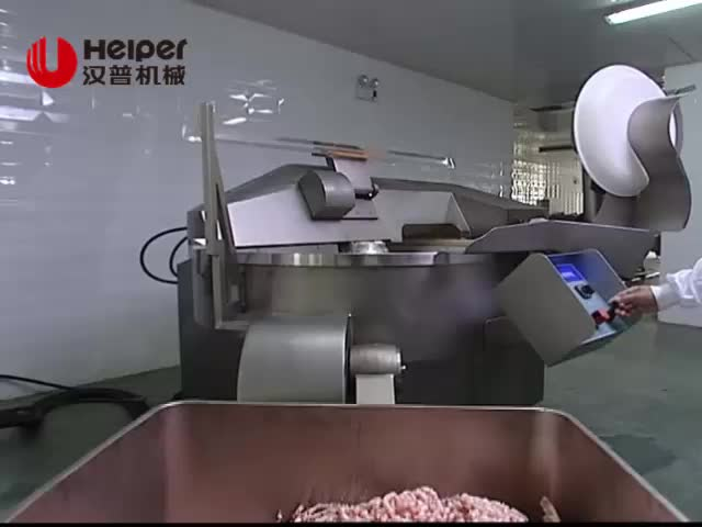 Vacuum bowl cutter machine 550L