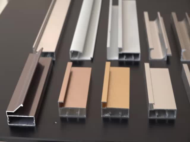 China Jianmei Aluminum Profile For Kitchen Cabinet Kitchen