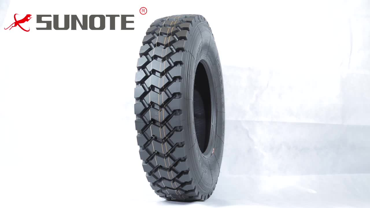 High load capacity long mileage 12r22.5 dump truck tires