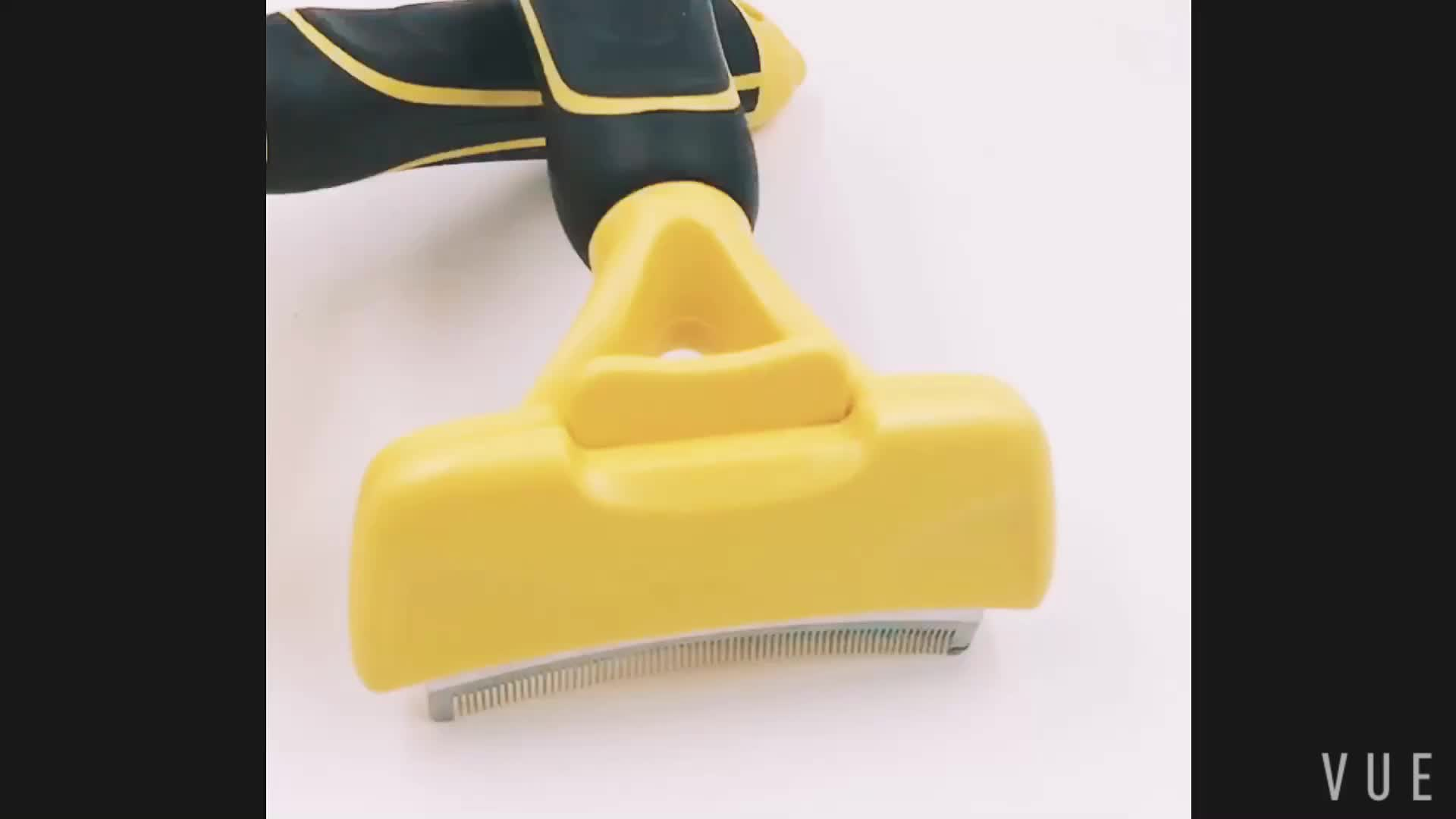 Best High Quality Pet Stainless Steel Hair Removal Comb Deshedding Tool For Dog