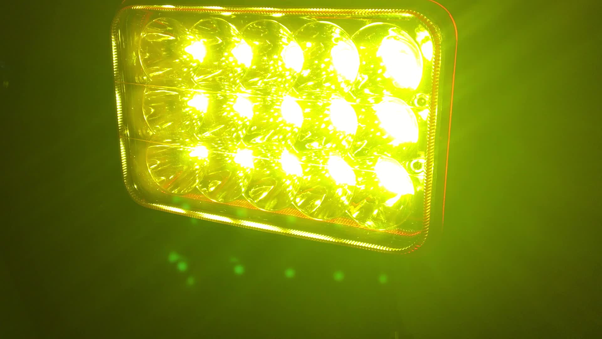 5.5 inch led work light 45w led driving light with 4d reflector for tractor, trucks, ATV, offroad