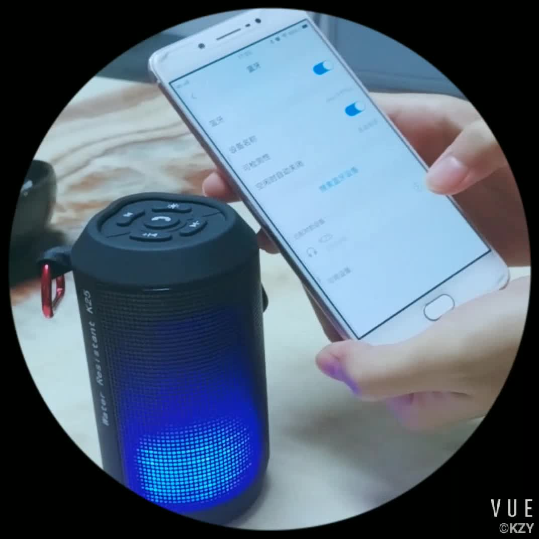 Outdoor Portable Waterproof Bluetooth Speaker with IPX4