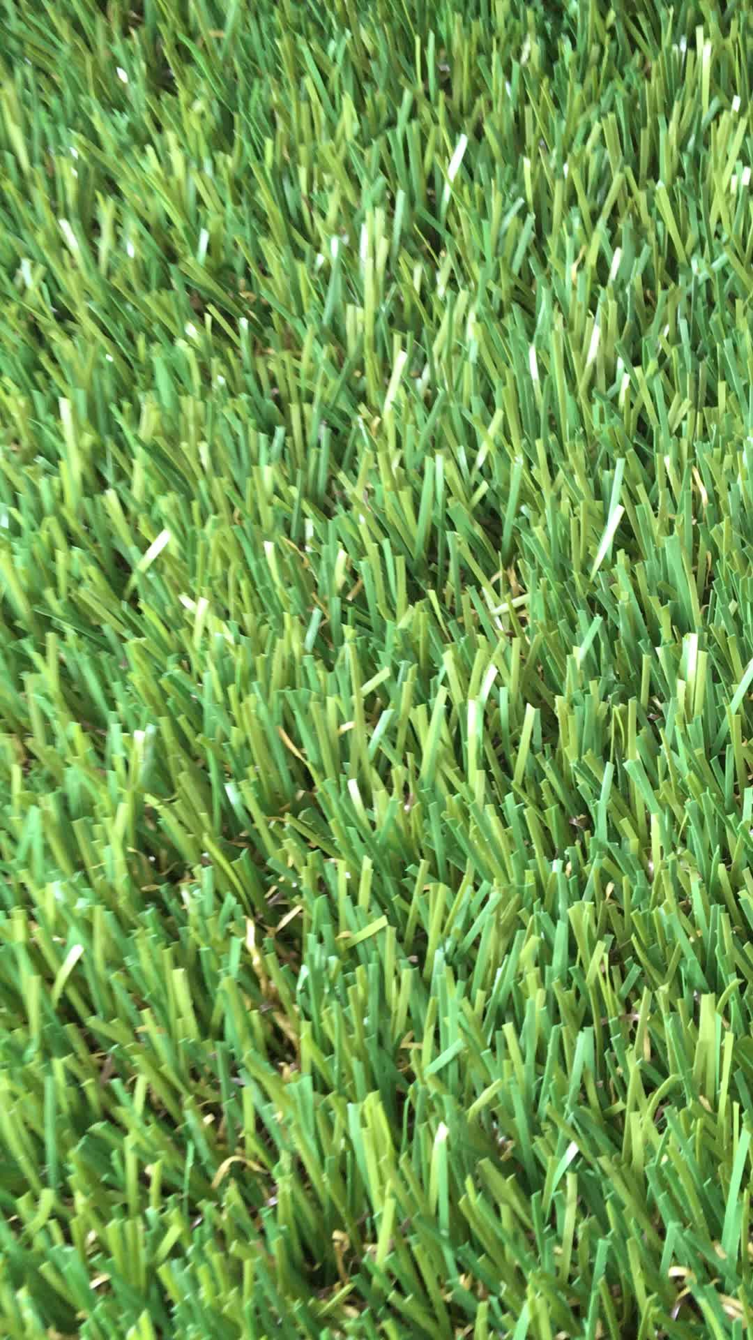 20mm 40mm dekoratif sentetik doğal görünümlü yapay çim