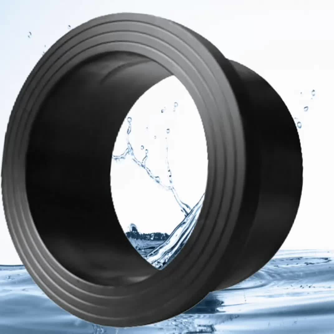 Mm top quality hdpe flange adapter pipe fittings