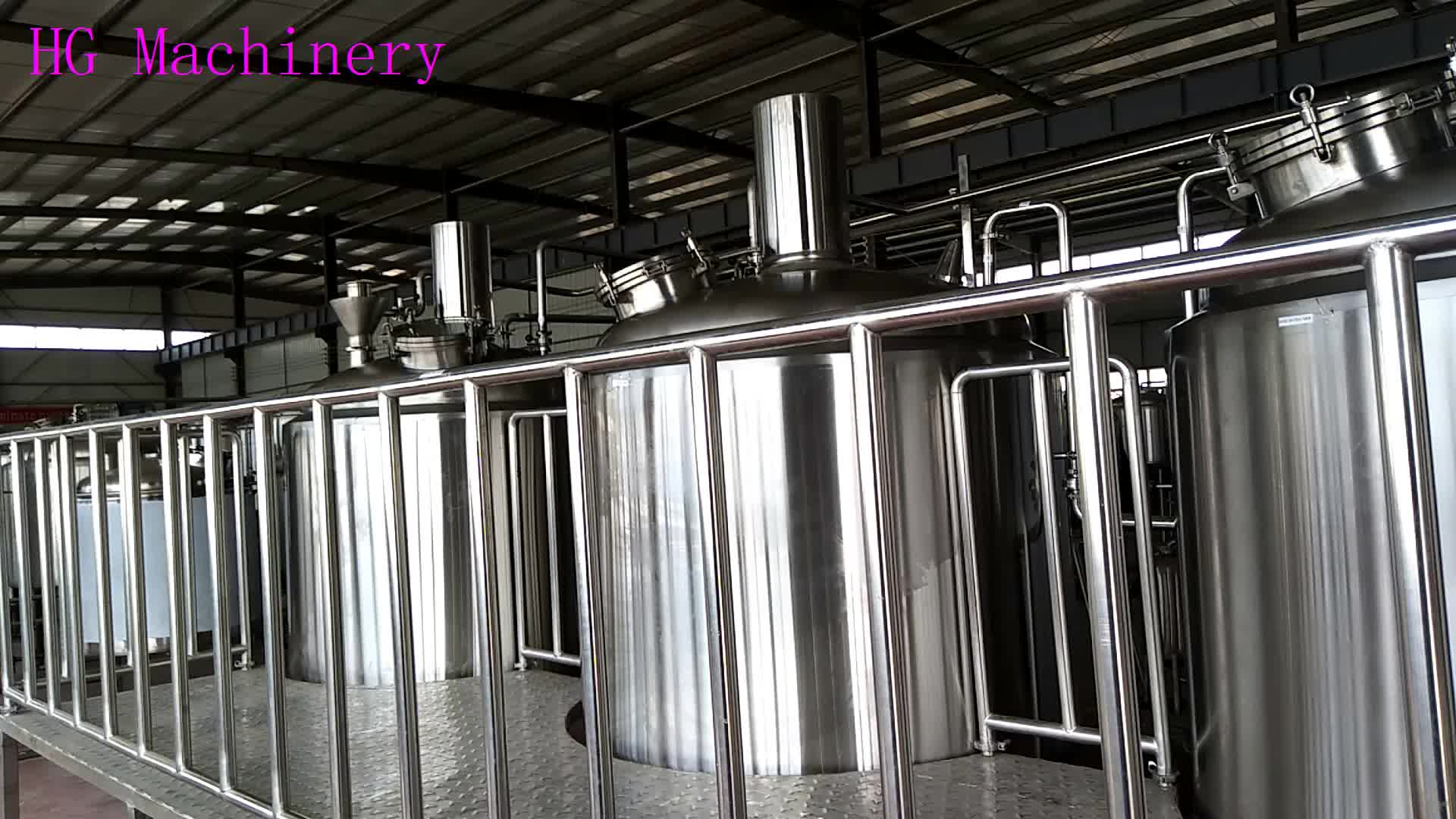 800L Micro Complete Beer Brewing Equipment