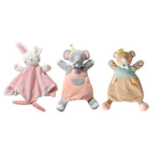 babygreat婴儿安抚巾可入口宝宝安抚玩偶 0-1岁睡眠手偶毛绒玩具