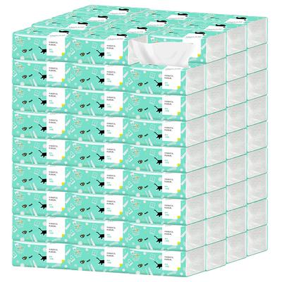 大规格聪妈原生木浆4层加厚抽纸30包
