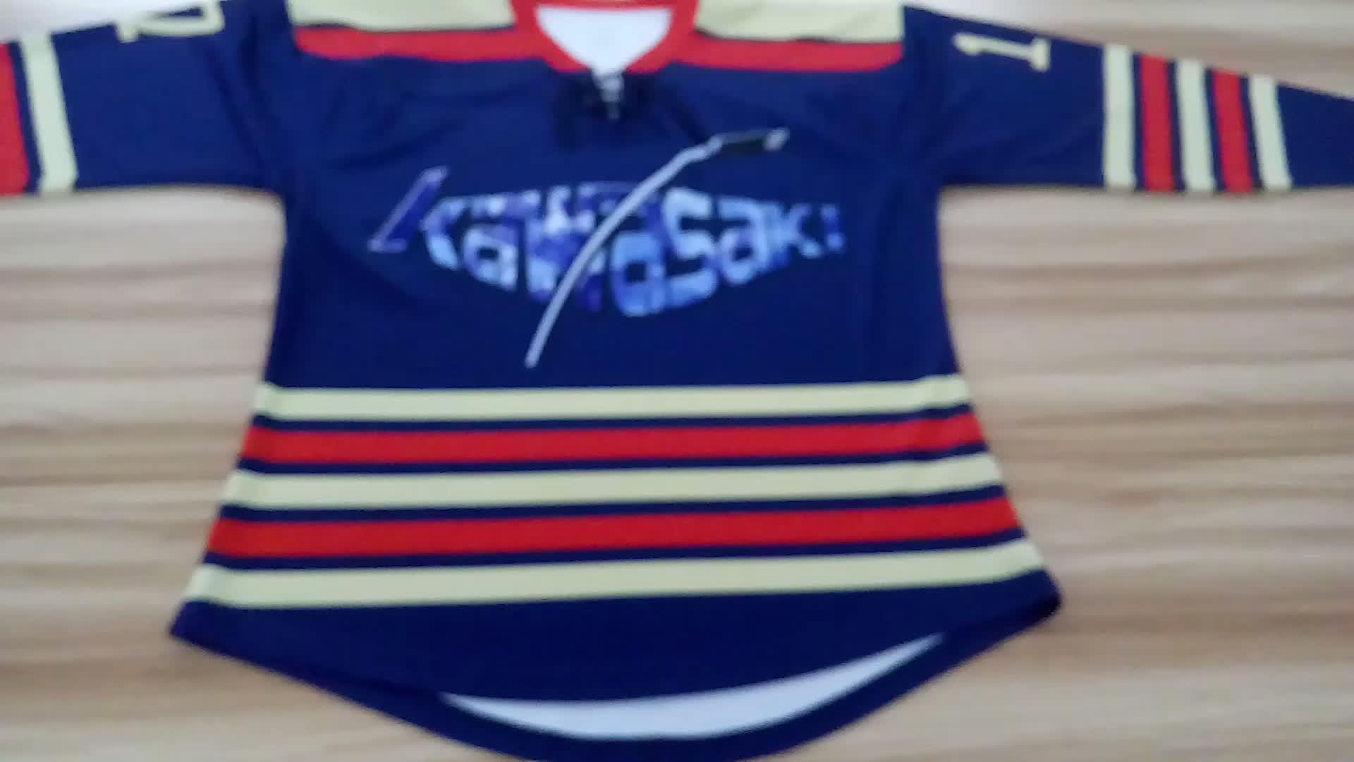 Custom 6xl hockey jersey, team set tackle twill hockey jerseys