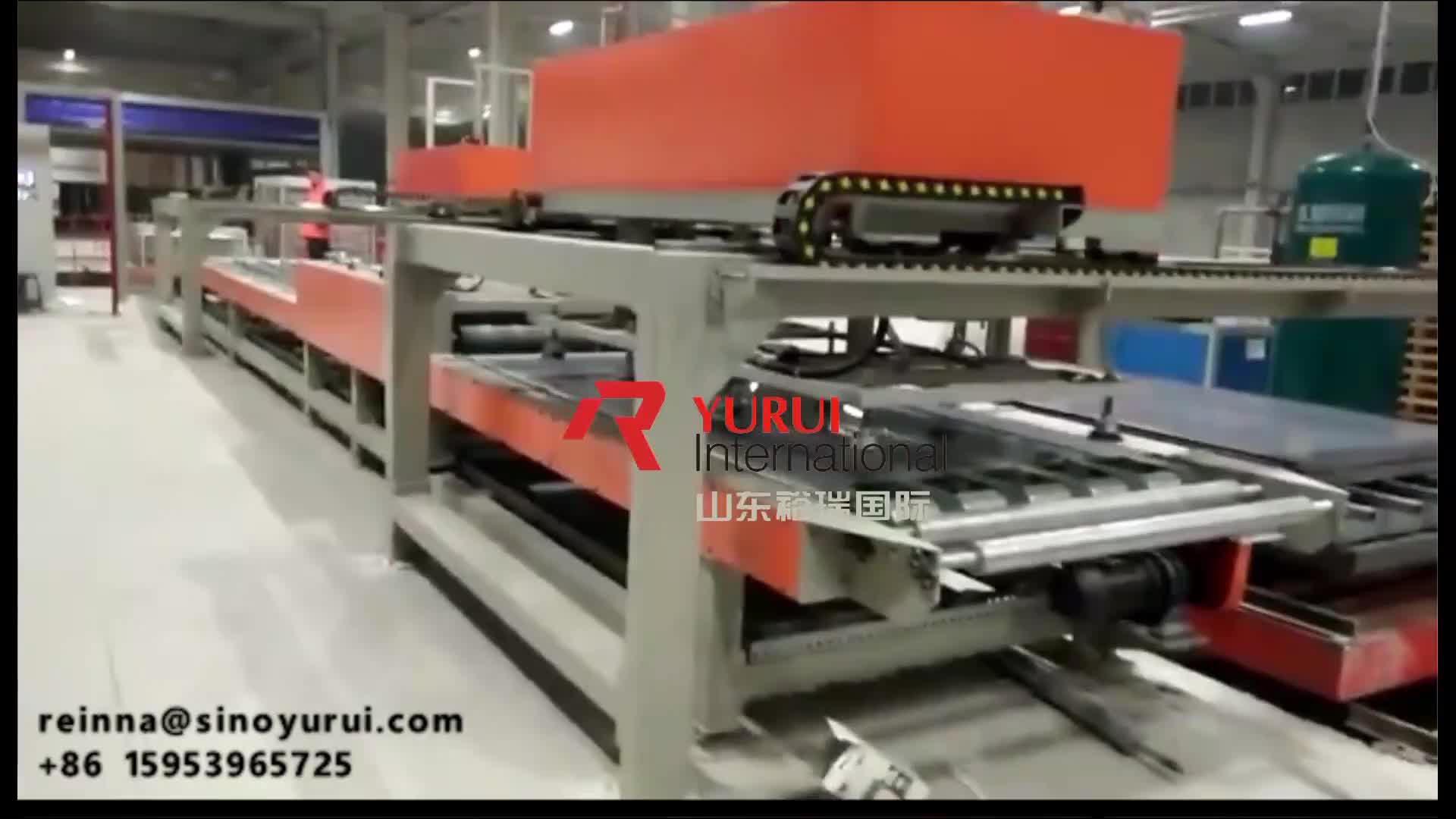 3-25mm 2000pieces/shift magnesium oxide board mgoboard production machine manufacturing process