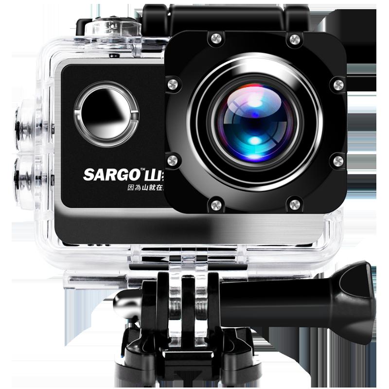 山狗A8运动相机高清4K头盔骑行摄像vlog防水潜水下摩托行车记录仪