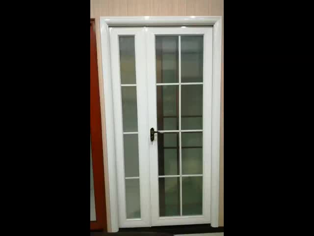 Baifu soundproof used exterior french double glass for Double french doors for sale