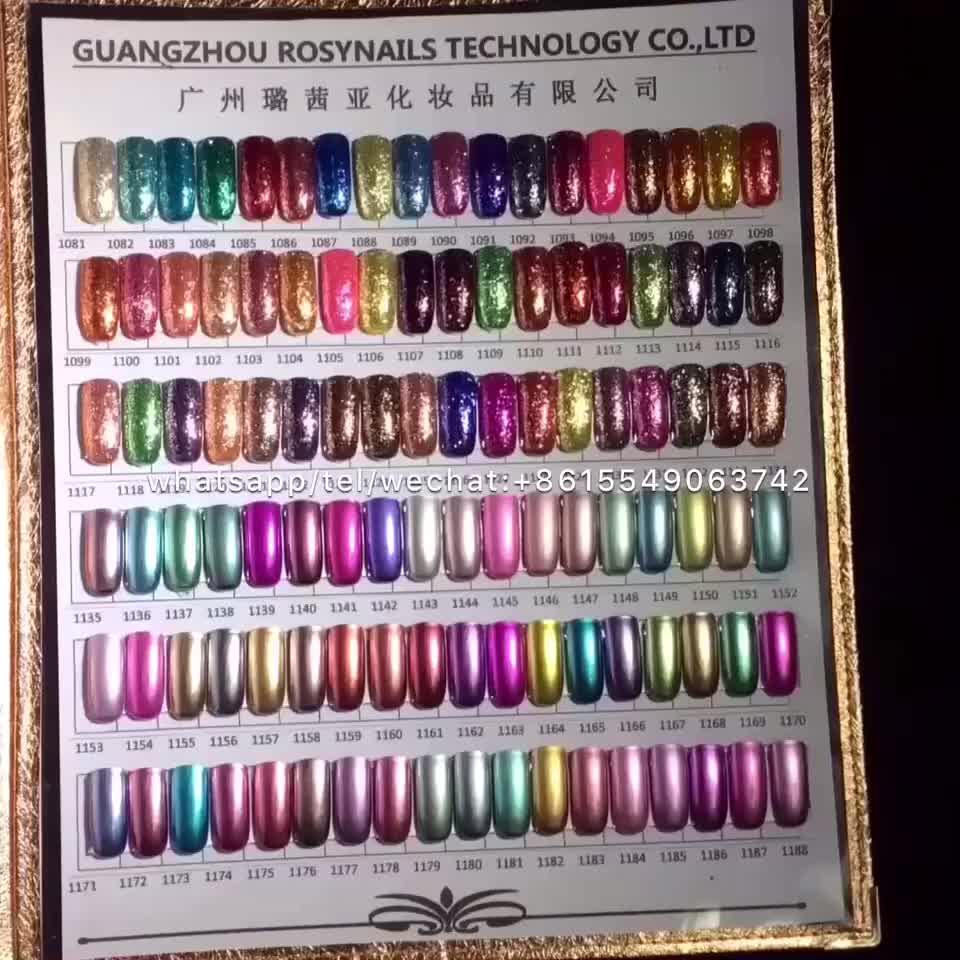 51 colors rosynails gel coat nail polish strong uv gel