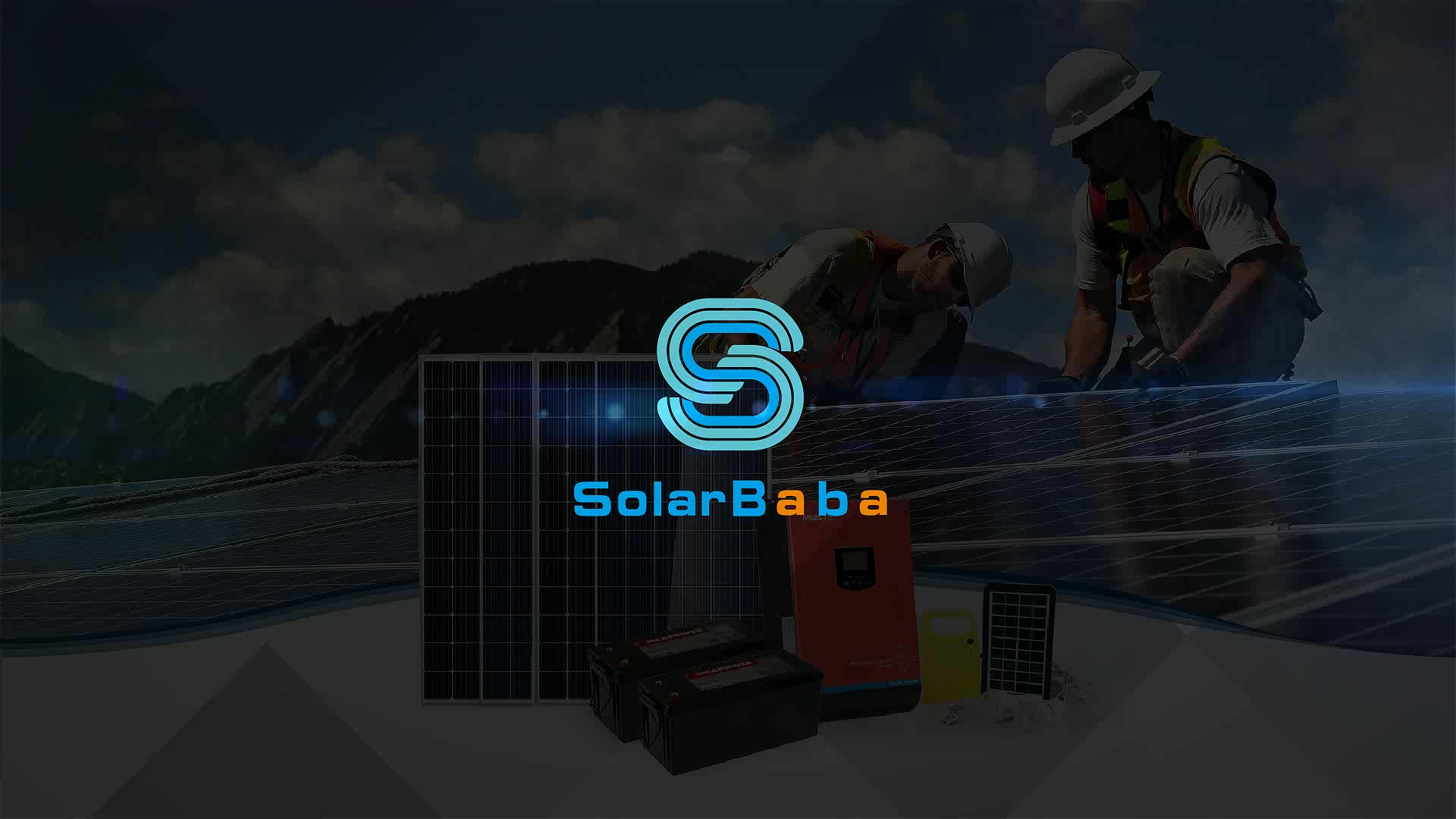 Solarbaba factory directly sale off grid 4kw solar energy storage system for home use