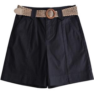 工装夏显瘦2021年夏季新款直筒短裤