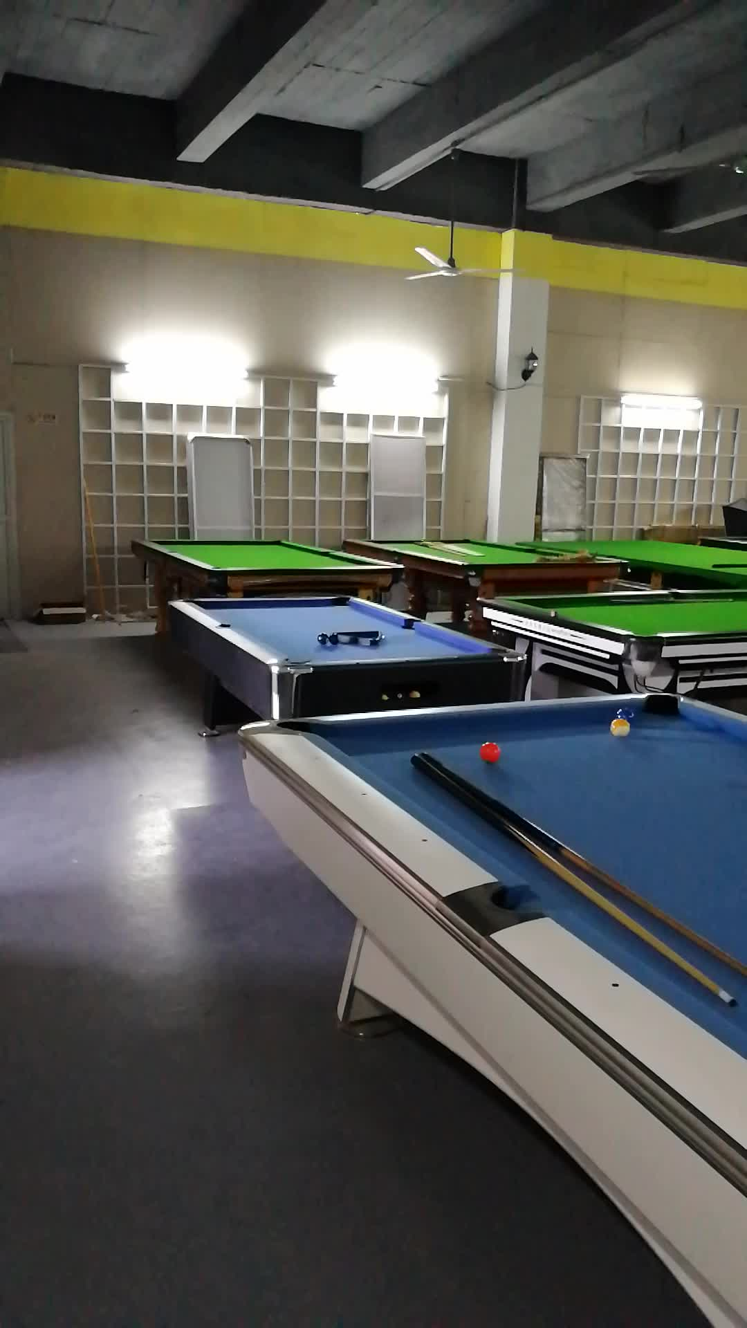 9ft Solid Wood Slate Rubber 3 Cushion Billiard Table For Sale