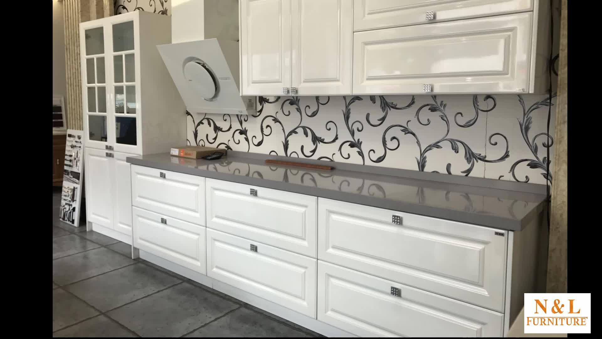 500 Usd Rabatt Hochglanz Holz Möbel Hagzhou Modulare Küchenschränke ...