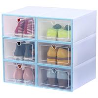 透明塑料神器鞋盒子收纳盒鞋箱鞋柜买后点评