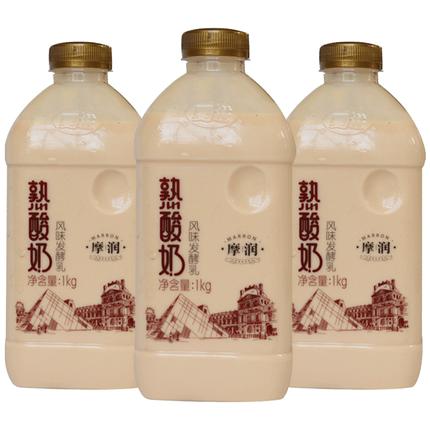 夏进熟整箱益生菌炭烧发酵1l 2酸奶