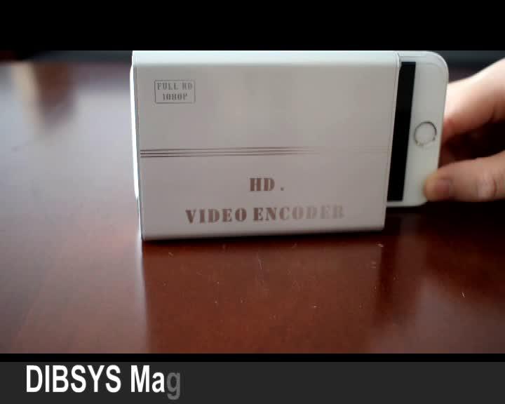 Mini hd sdi rj45 ses video monitörü dönüştürücü için iptv medya sunucusu