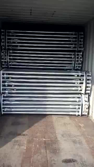 Powder Coated Adjustable Metal Shoring for Construction Materials