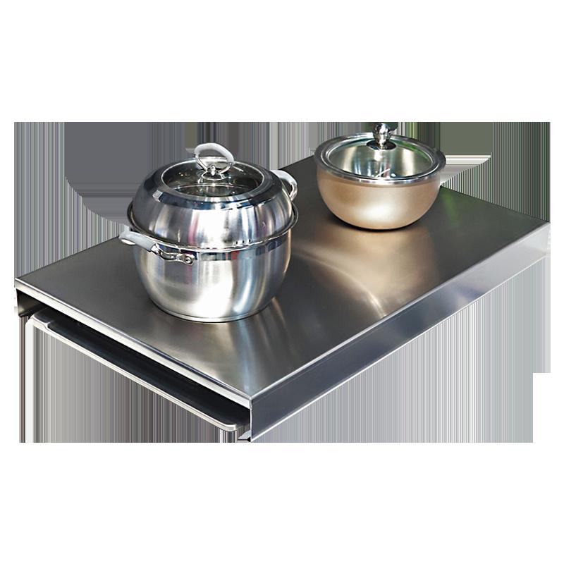厨房置物架电磁炉支架灶台架子燃气灶盖板不锈钢微波炉煤气灶盖板