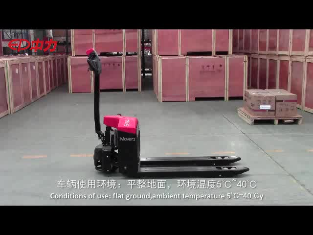 China Warehouse foot bike Industrial Forklift Truck Electric Pallet jack Truck Stacker