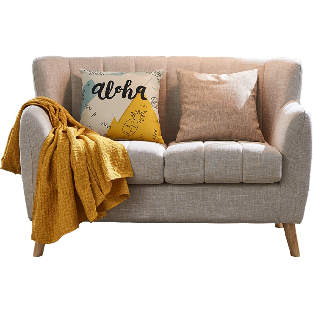 大森林北欧小户型简约卧室单人沙发好用吗