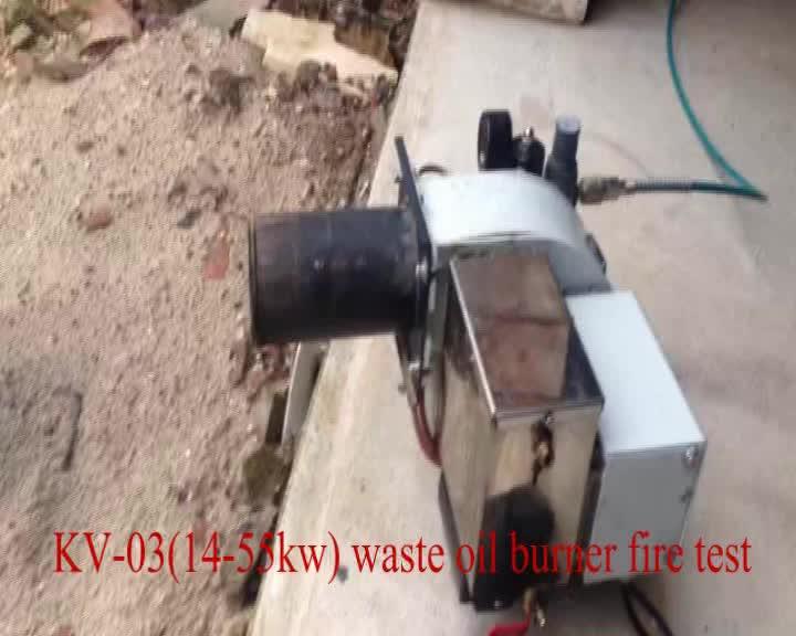 2015 vendita calda cina re vieal kv-03 rifiuti bruciatore a nafta/bruciatori industriali cina/rifiuti bruciatore a nafta sistema