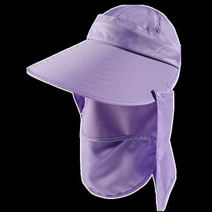 大沿遮阳帽子女夏季户外出行休闲帽