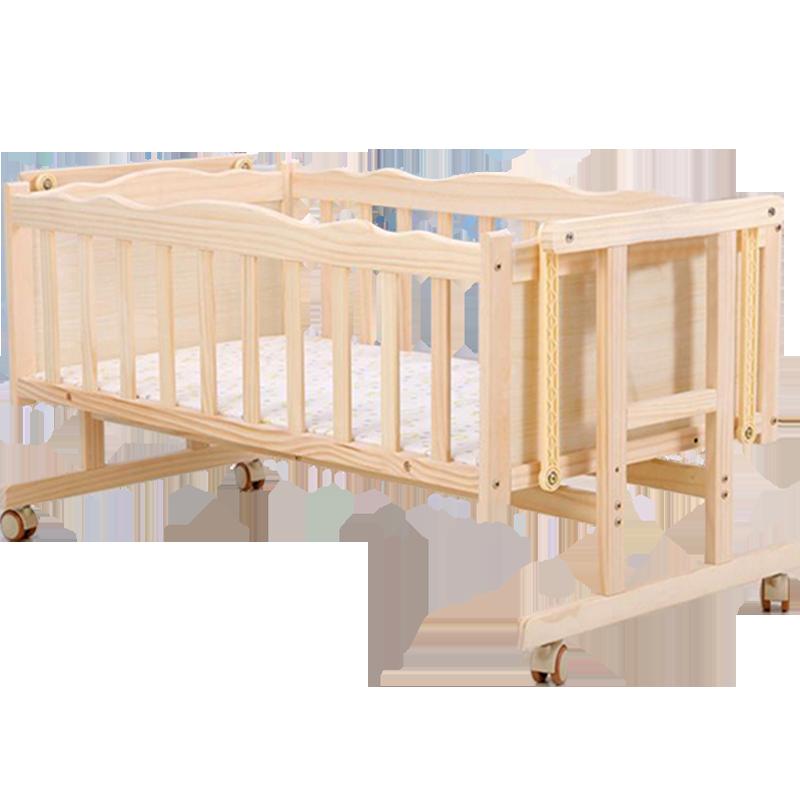 电动摇篮床无漆实木床智能婴儿摇椅宝宝床自动电动摇床哄娃睡神器用后10天感受曝光,谈内幕感受