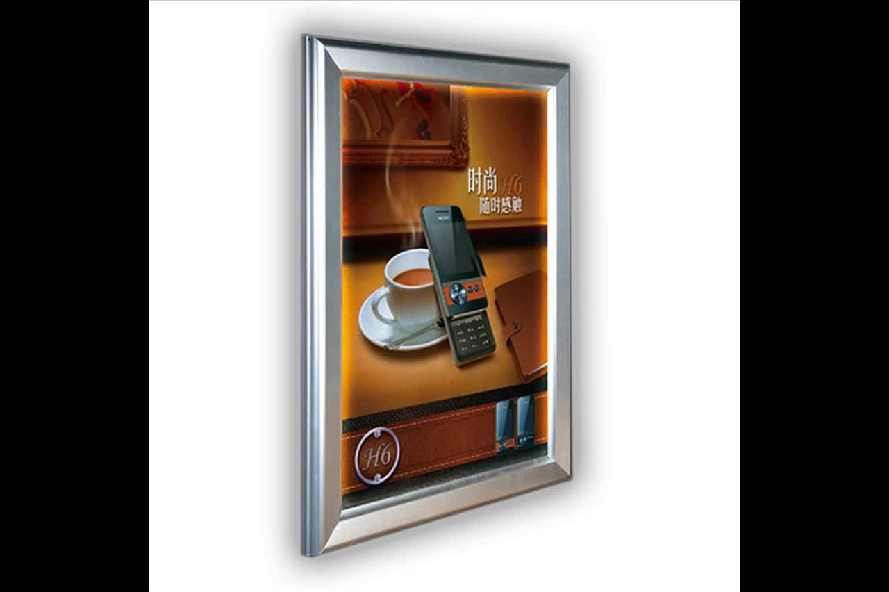 Guangzhou Wholesales Plastic Poster Holder Picture Frame B1 B2 ...