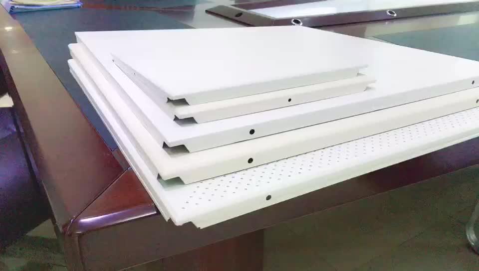 2X2 Building Material Suspended Ceiling Tiles Aluminum Metal Decorating Grid Ceiling Panel