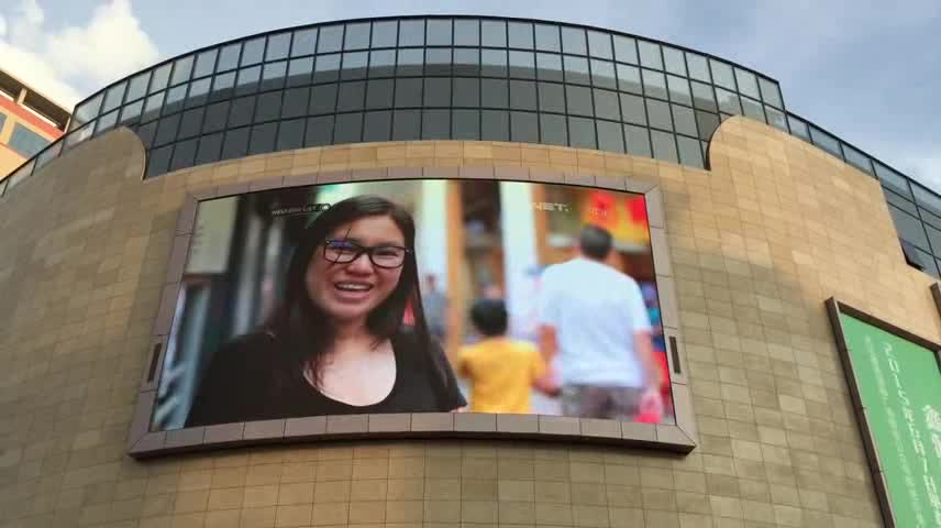 Big Arc Advertising Billboard price P6 P8 P10 P16 Outdoor LED Video Wall
