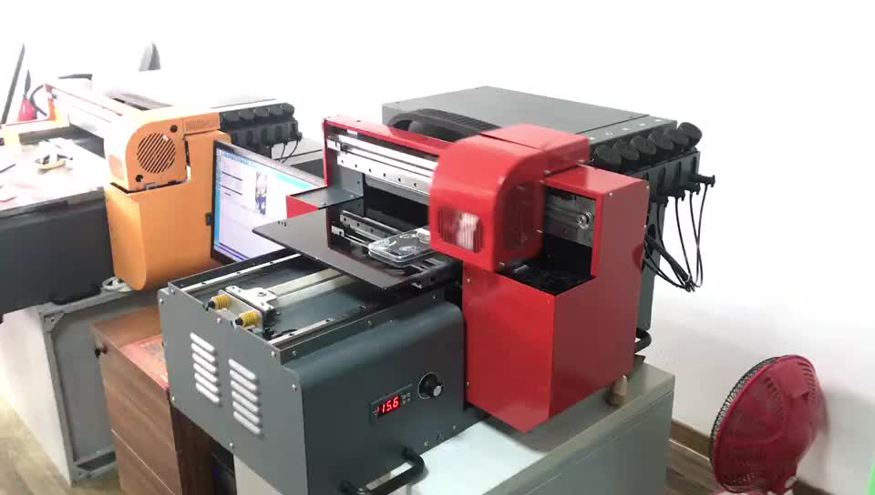 Printing on any surface digital wood A3 uv flatbed printer with wholesale price