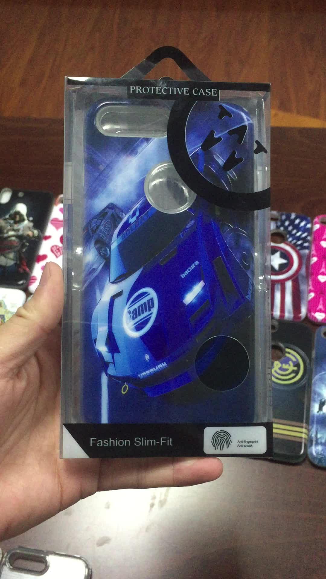 Pour iphone 5/6/7/8/x housse de téléphone couverture arrière mobile impression 3D personnalisée gaufrage étui de téléphone