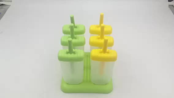 Top Amazon Seller Reusable Plastic Popsicle Mold