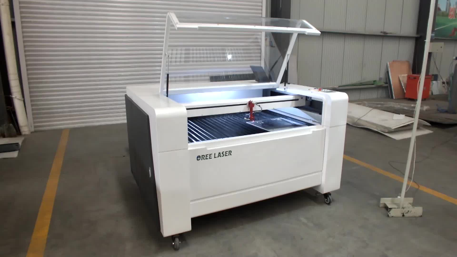 100w 130w auto feeding 3d Co2 laser engraving machine for fabric rubber plywood glass acrylic cnc
